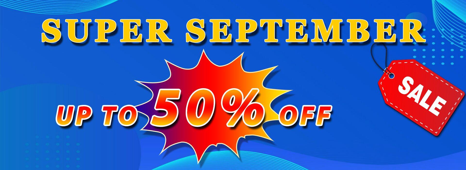 Super September,Super Sale