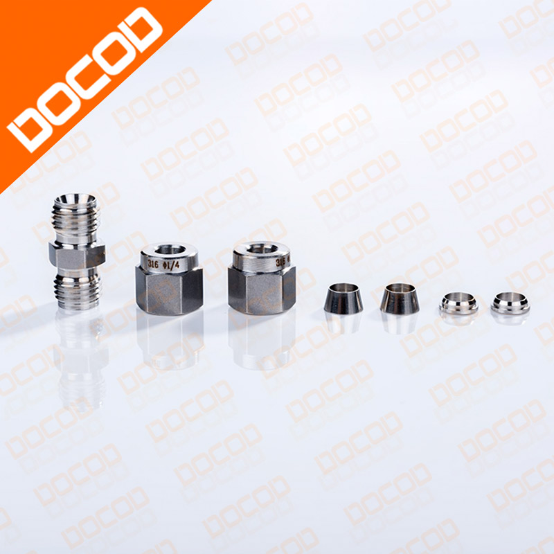 Top quality  7767 1/4 STRATGHT CONNECTOR FOR IMAJE S & 9040 SERIES