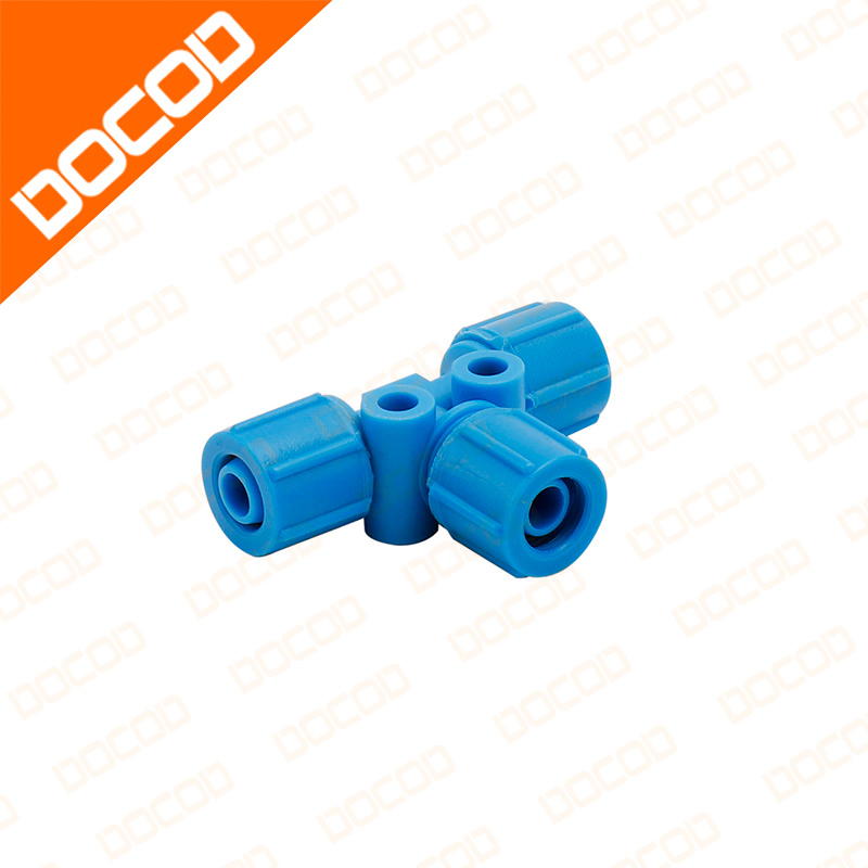 Top quality PG0039 CONNECTOR TUBE TEE 8mm ID FOR DOMINO