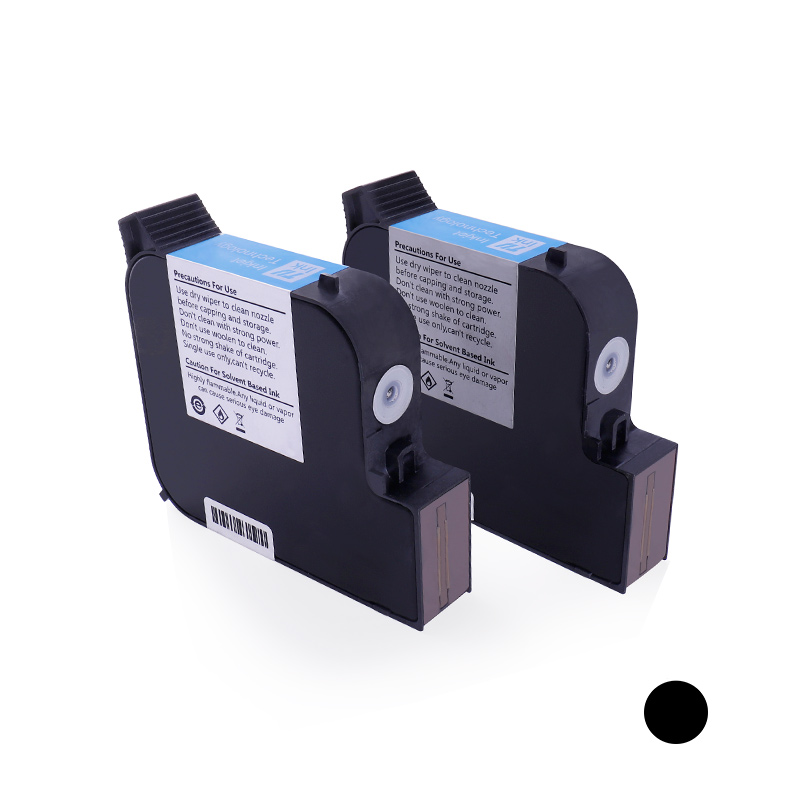 TIJ black solvent quick-drying ink cartridge
