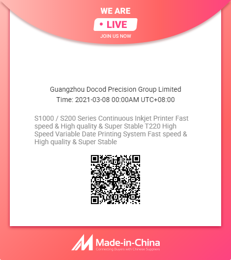 Docod live show on Made-in-China.com!