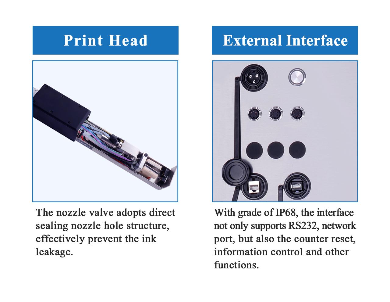 S400PLUS Continuous Inkjet Printer