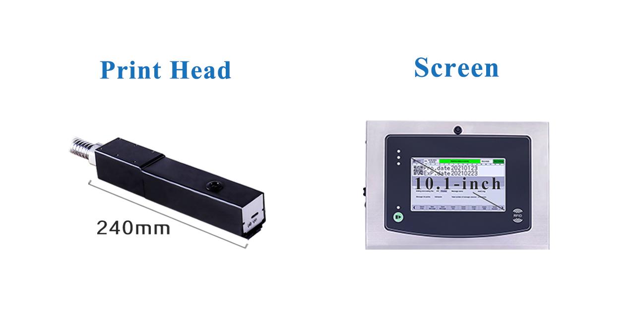S200 plus Series Continuous Inkjet Printer